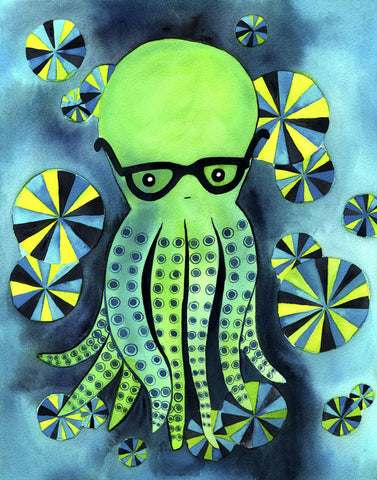 Geeky Octopus -  My Zoetrope - McGaw Graphics