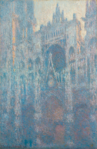 The Portal of Rouen Cathedral in Morning Light, 1894 -  Claude Monet - McGaw Graphics