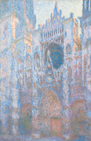 Rouen Cathedral, West Façade, 1894 -  Claude Monet - McGaw Graphics