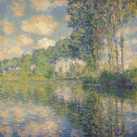Poplars on the Epte, 1891 -  Claude Monet - McGaw Graphics