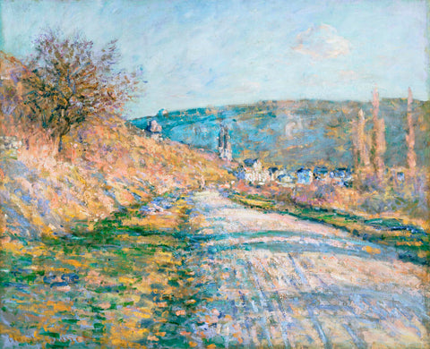 Claude Monet - The Road to Vétheuil, 1879