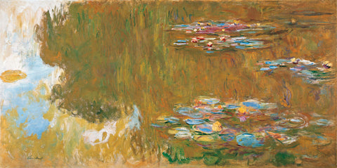 The Water Lily Pond, c. 1917-19 -  Claude Monet - McGaw Graphics