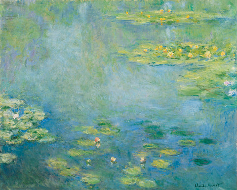Claude Monet - Waterlilies, ca. 1906