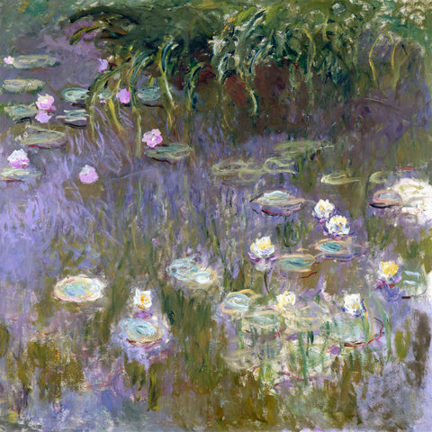Water Lilies, 1922 -  Claude Monet - McGaw Graphics