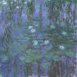 Blue Water Lilies, 1916-1919 -  Claude Monet - McGaw Graphics