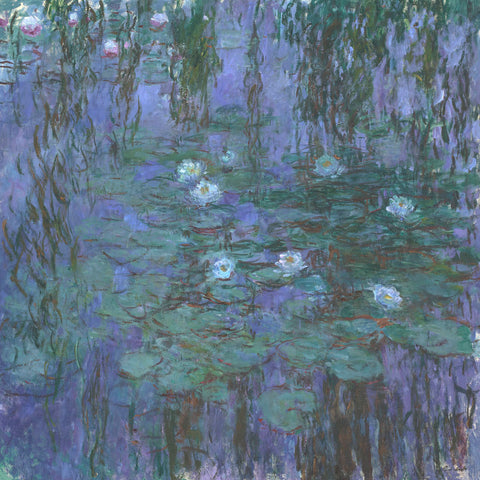 Claude Monet - Blue Water Lilies, 1916-1919