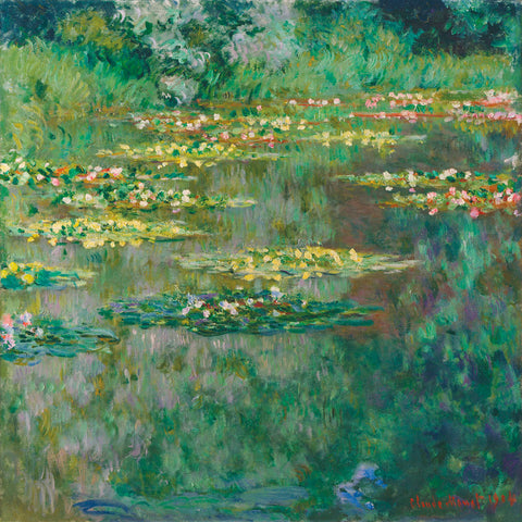 Le Bassin des Nympheas, 1904 -  Claude Monet - McGaw Graphics
