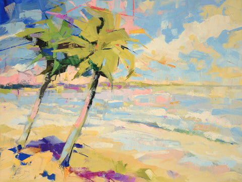 Kim McAninch - Palms I