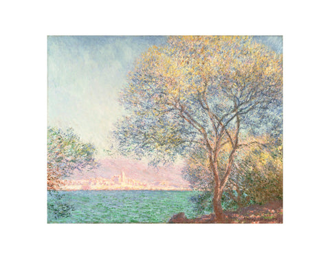 Morning at Antibes, 1888 -  Claude Monet - McGaw Graphics