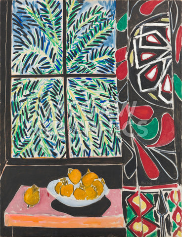 Henri Matisse - Interior with Egyptian Curtain, 1948