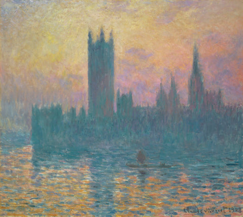 Claude Monet - Houses of Parliament, 1903