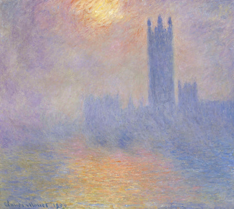 Claude Monet - Houses of Parliament, 1904