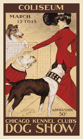 Chicago Kennel Club's dog show -  George Ford Morris - McGaw Graphics