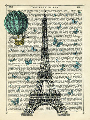 Eiffel Butterflies -  Marion McConaghie - McGaw Graphics
