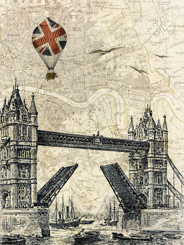 Tower Bridge Balloon -  Marion McConaghie - McGaw Graphics