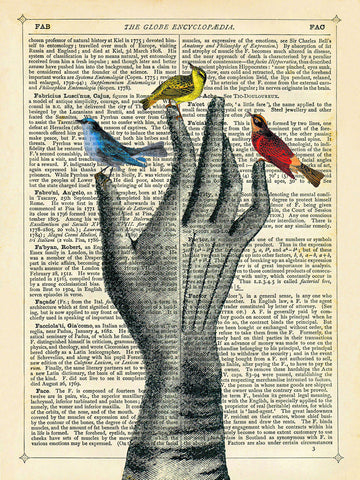 Bird in the Hand -  Marion McConaghie - McGaw Graphics