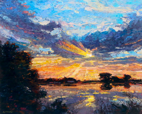 Sunset -  Robert Moore - McGaw Graphics