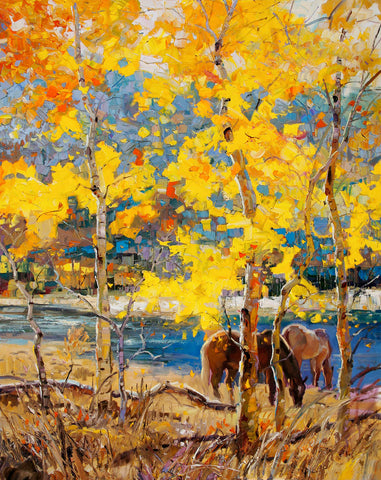 Robert Moore - Fall Grazing