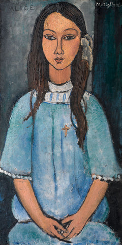 Alice, about 1918 -  Amedeo Modigliani - McGaw Graphics