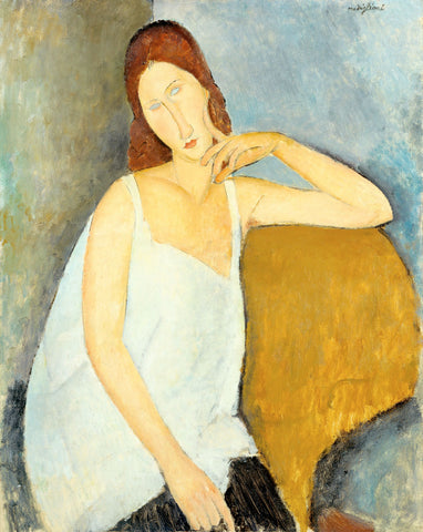Amedeo Modigliani - Portrait of Jeanne Hébuterne, 1919