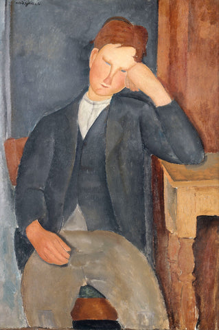The Young Apprentice (1918-1919) -  Amedeo Modigliani - McGaw Graphics