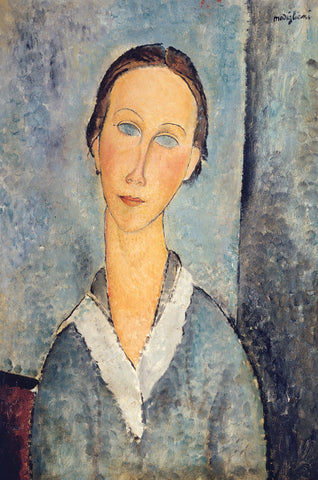 Amedeo Modigliani - Girl in a Sailor's Blouse, 1918