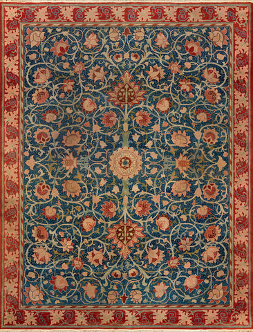 Holland Park carpet, late 19th century -  William Morris - McGaw Graphics