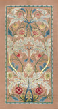 Panel of floral embroidery, circa 1875 –80 -  William Morris - McGaw Graphics