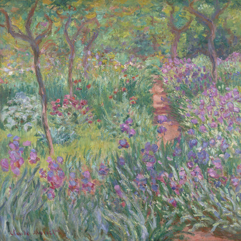 The Artist's Garden in Giverny, 1900 -  Claude Monet - McGaw Graphics
