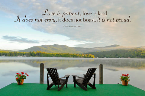 Good Companions (Love is patient...) -  Orah Moore - McGaw Graphics