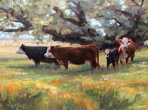 Summer Pasture -  Robert Moore - McGaw Graphics