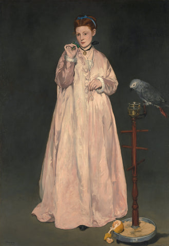 Young Lady in 1866, 1866 -  Edouard Manet - McGaw Graphics
