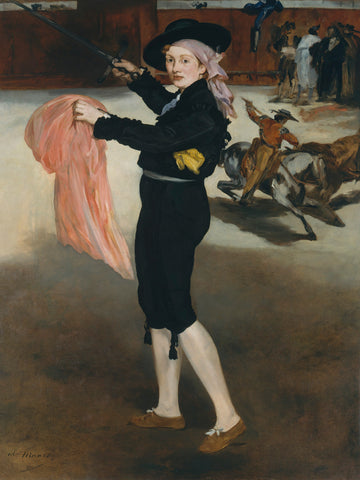 Mademoiselle V. . . in the Costume of an Espada, 1862 -  Edouard Manet - McGaw Graphics