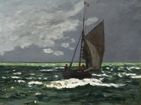 Seascape, Storm, 1866 -  Claude Monet - McGaw Graphics