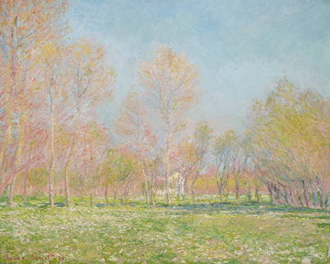 Spring in Giverny, 1890 -  Claude Monet - McGaw Graphics