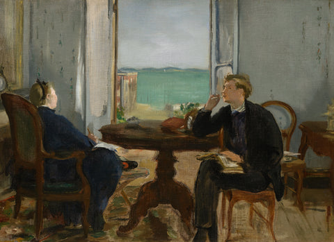 Interior at Arcachon, 1871 -  Edouard Manet - McGaw Graphics