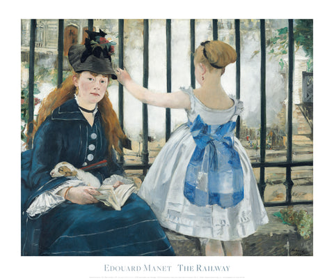 The Railway, 1873 -  Edouard Manet - McGaw Graphics