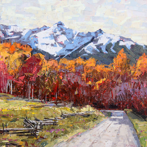 Rocky Mountain Road -  Robert Moore - McGaw Graphics