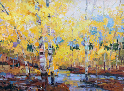 Amarillo Autumn -  Robert Moore - McGaw Graphics