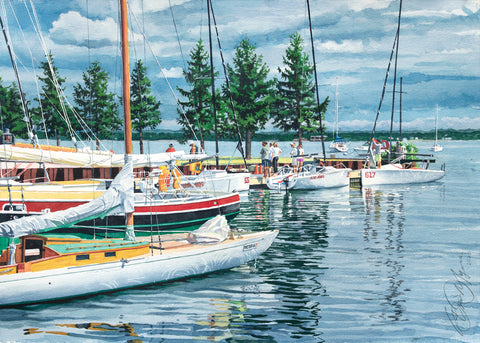 Traverse Bay -  Stan Myers - McGaw Graphics