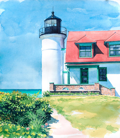 Point Betsie -  Stan Myers - McGaw Graphics