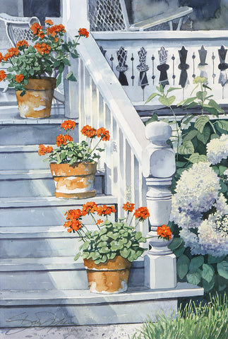 Cottage Steps II -  Stan Myers - McGaw Graphics
