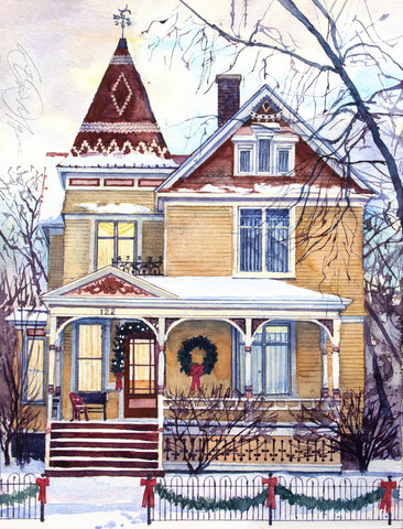 Victorian Christmas -  Stan Myers - McGaw Graphics