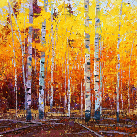 Autumn Gold Aspen -  Robert Moore - McGaw Graphics