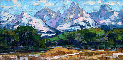 Tetons from Idaho -  Robert Moore - McGaw Graphics