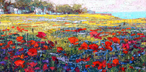Red Poppies -  Robert Moore - McGaw Graphics