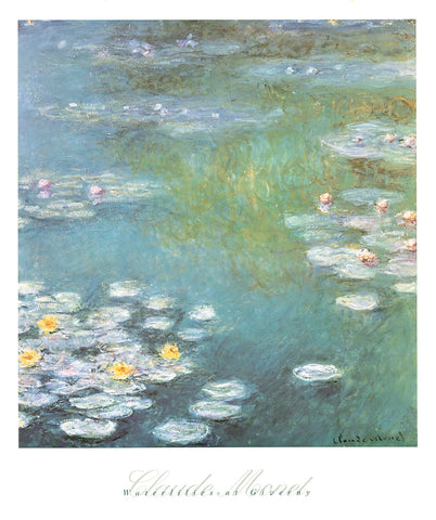 Waterlilies at Giverny, 1908 -  Claude Monet - McGaw Graphics