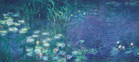 Water Lilies: Morning -  Claude Monet - McGaw Graphics