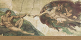 The Creation of Adam -  Michelangelo - McGaw Graphics