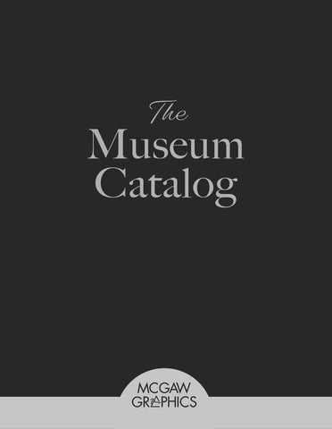 The Museum Catalog -  McGaw Graphics - Catalogs - McGaw Graphics